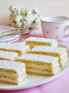 Hófehérke Hungarian Recipes, Hungarian Food, Vanilla Cake, Cake Recipes, Bakery, Deserts, Food And Drink, Cooking Recipes, Favorite Recipes