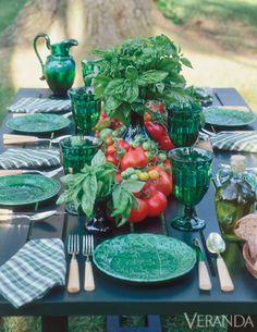 Tablescapes Splendida ALL'APERTO - Idee tavolo All'aperto - Veranda # slide-1
