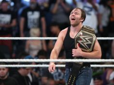 Dean Ambrose Attacks on Seth Rollins-Video-Win WWE World Heavy Weight Title-Money In The Bank 2016