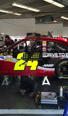 Jeff Gordon inside his No. 24 Drive to End Hunger Chevrolet during NASCAR Sprint Cup Series practice for the Daytona 500 at Daytona International Speedway on Feb. 22.