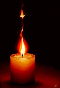 Gif: light for my son, always a candle burns, for you my son.nite, nite my Image Bougie, Candle Picture, Romantic Candles, Candle In The Wind, Light My Fire, Beautiful Gif, Candle Lanterns, Burning Candle, Magick