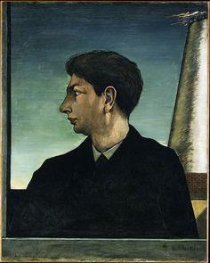 Cave to Canvas, Giorgio de Chirico, Self Portrait, 1911 From the...