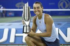 WUHAN SEPTEMBRE 2017 1 ère victoire d' un tournoi PREMIER5 15 ème  WTA