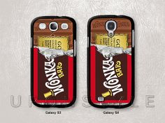 Samsung Galaxy S4 case, Galaxy S3 case, WILLY WONKA Golden Ticket, Phone Cases, Phone Covers, Skins, Case for Samsung, Case No-711