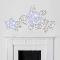 Floral Block Print