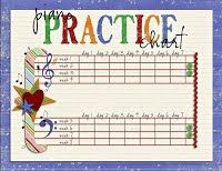 Bead Counters, Dice, Wands, and other simple toys that make priacticing fun for kids!  You can also download free practice charts and weekly practice guides for Suzuki violin.