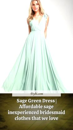 """""""Sage Green Dress, that is the subject of this title... Good afternoon my friendly follower. I have compiled these 4 Sage Green Dress pictures from 170+ different images for you. While doing this, We paid attention to the fact that there are designs that can be viral in 2020 and many more. Please click on the 'Read More' button to see the rest of the content associated to the Sage Green Dr... Green Bridesmaid Dresses, Prom Dresses, Formal Dresses, Sage Green Dress, Affordable Dresses, Dress Picture, Our Love, Rest, Content"""