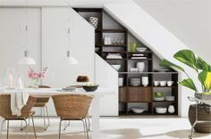 19 Space Saving Under Stairs Kitchens You Need To See