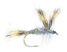 La mouche artificielle Wulff grise de Catch My Fly, vue de profil