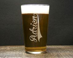 Verre à Bière Prénom