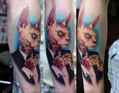 Sphynx Tattoo by Moviemetal3.deviantart.com on @DeviantArt