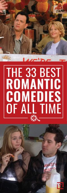 The best Rom-Coms to watch for Valentines Day.