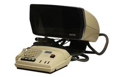 The French Matra videophone (1970)