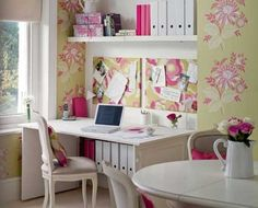 Decoración de oficinas en casa