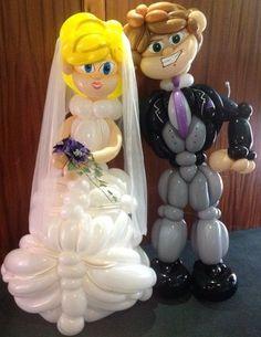 bride and groom British style