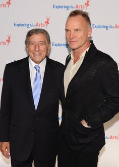 Sting - Tony Bennett And Susan Benedetto Host 6Th Annual Exploring The Arts Gala