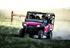 New 2017 Honda Pioneer 1000-5 ATVs For Sale in Florida. 2017 Honda Pioneer 1000-5, 999cc liquid-cooled twin-cylinder Unicam® four-stroke Fully Automatic Dual Clutch Transmission (DCT) with six forward gears and Reverse. Four drive modes include 2WD, 4WD, Turf and Differential lock. Paddle Shifters with three shift modes (standard, sport, and manual) Front Suspension: Independent double-wishbone; 10.55 inches travel Rear Suspension: Independent double-wishbone; 10 inches travel Curb Weight…