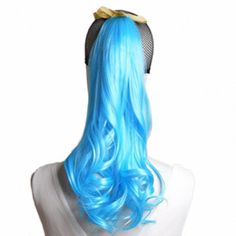 MapofBeauty 2 Pack Curly Ponytail Long Wavy Hair Fashion Hair Accessorie (Azure ) MapofBeauty http://www.amazon.com/dp/B00O1VSACO/ref=cm_sw_r_pi_dp_BjK9vb0M63QAX