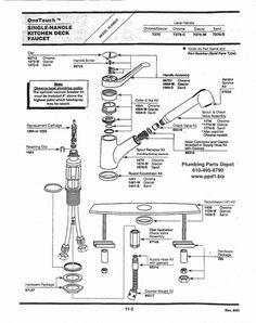 10 Best Moen 7600 Kitchen Faucet Repair Diagram Ideas Kitchen Faucet Repair Kitchen Faucet Faucet Repair