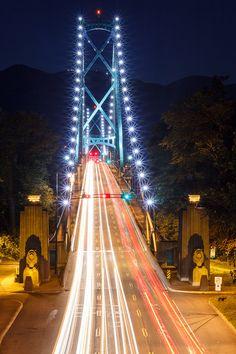 Lions Gate Bridge Vancouver, Canada