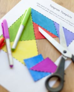 How to Make a Tangram