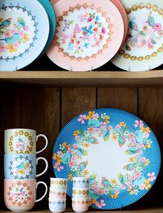 print & pattern. More pretty plates, good colors