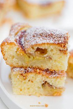 Moje Wypieki | Ciasto z bananami i cynamonem