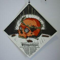 Pfingstfest Screenprinted Gigposter
