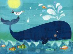 Whale Pals Canvas Art