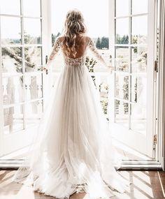 beautiful wedding dress #weddingdresses #weddingideas