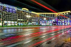 Mall of Berlin, nach dem Regen,von durchblick