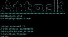 NoSQLAttack – tool to automate exploit MongoDB server IP on Internet. Sql Injection, Internet, Tools, Instruments