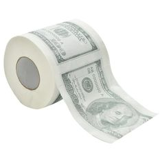 100$ toilet paper roll