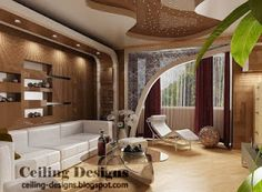 134 Creative Living Room Interior Designs  Ra  Pinterest Endearing Ceiling Designs For Living Room Philippines Decorating Design