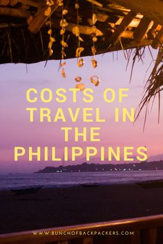 What were the costs of a 29-day trip in the Philippines? Inc. average travel costs per day, price examples and budget tips.   By Bunch of Backpackers