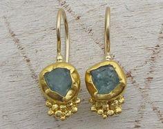 Peridot and Tourmaline Earrings - 24 Karat Solid Gold Earrings with Pink Tourmaline and Green Peridot Gemstone Ancient Jewelry, Antique Jewelry, Silver Jewelry, Fine Jewelry, Cheap Jewelry, Jewelry Ideas, Roman Jewelry, Walmart Jewelry, Jewelry Stores