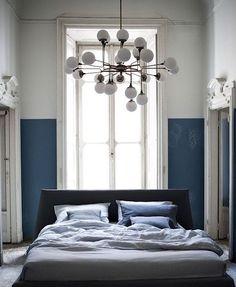 Get yourself som ceiling hight. And this lamp. Absolutely this lamp #realtor #realestate #broker #mäklare #fastighetsmäklare #listing #sekelskifte #turnofthecentury #stucco #stuckatur #dörröverstycke #kandelaber #chandelier #blue #vasastan #sovrum #bedroom #fönsternisch #localrealtors - posted by  https://www.instagram.com/maklarveronica - See more Real Estate photos from Local Realtors at https://LocalRealtors.com