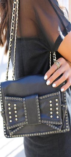 Rebecca Minkoff eyelet mini sweetie bag ♥✤ | KeepSmiling | BeStayBeautiful