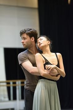 Alexander Campbell as the Young Man and Yuhui Choe as the Young Girl in rehearsal for The Two Pigeons, The Royal Ballet © ROH 2015 . Photograph by Bill Cooper Ballet Boys, Ballet Class, Ballet Dancers, Ballet Leotards, Bolshoi Ballet, Ballerinas, Dance It Out, Just Dance, Contemporary Dance