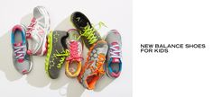 New Balance Shoes for Kids -   In seemingly the blink of an eye, your kid has either outgrown their gym shoes or worn them out. Here, you'll find suitable replacements. Hook-and-loop closures are easy for little ones to put on all by themselves. Older kids think vibrant colors are cool. And with signature New Balance...  #Laceup, #RunningShoe, #Tie