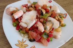 MAYTE EN LA COCINA: 320º receta: SALPICON DE MARISCO