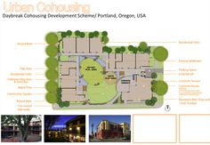 Urban Cohousing - Daybreak Cohousing Portland, Oregon, USA