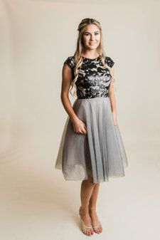 d029c622083 Searching for a modest prom dress that s still cute and stylish