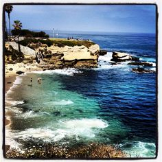 Took this pic at La Jolla Beach, San Diego, CA on a business trip. So pretty there. Reminded me of Hawaii!