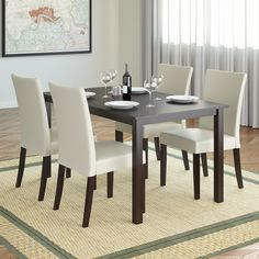 Atwood 5 Piece Dining Set Follow My Pinterest: @vickileandro