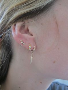 line & jo earrings. all of them. i love. amazing. lookdepernille i love your style. IMG_5124