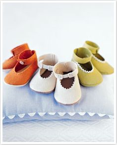 Free Sewing Patterns for Baby Booties