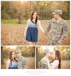 Army engagement session ideas by Tampa, Fl photographer Lizvette Wreath #army #armyfiance #couples #engagement