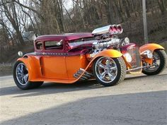 "1930 Ford ""A"" Coupe - Blown 331ci Hemi"