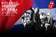 The Rolling Stones announce a free concert in Cuba!